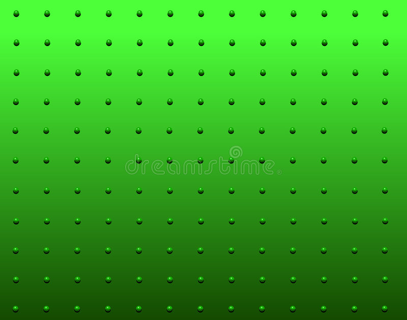 Rivet Green Stock Photography