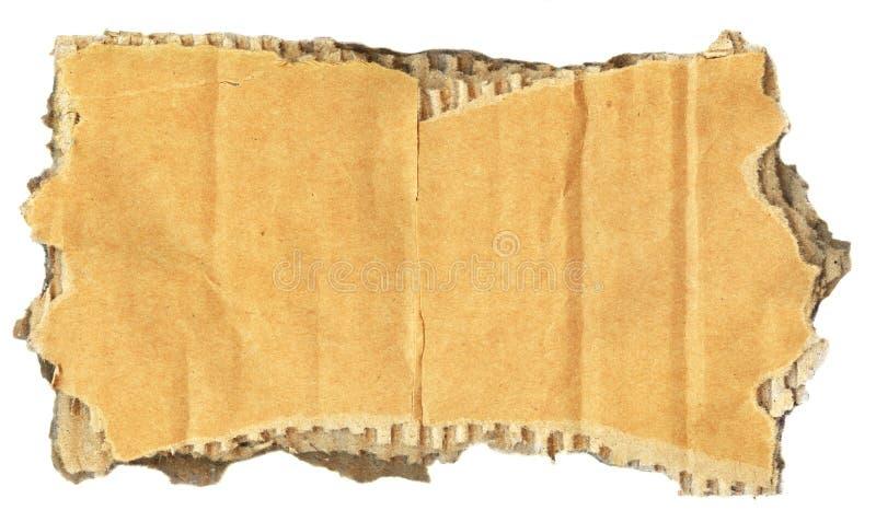rivet pappstycke arkivbilder