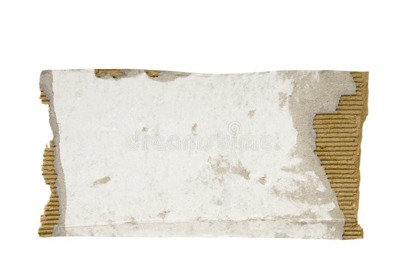 rivet pappstycke arkivfoton