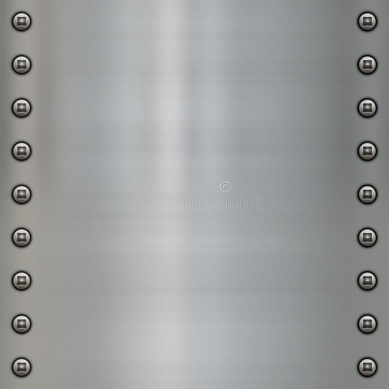 Free Riveted Metal Background Stock Photos - 8571013