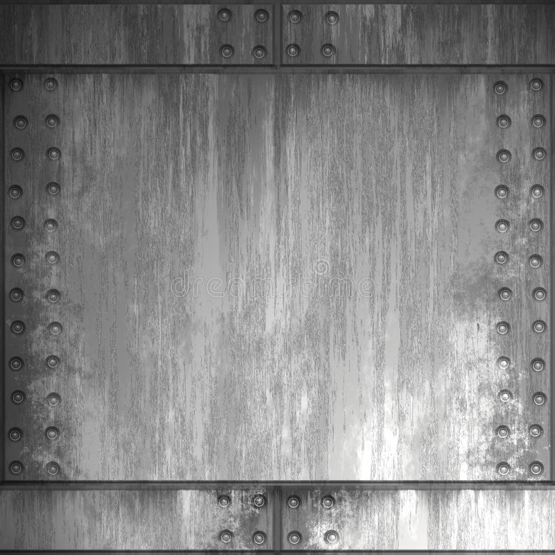 Free Riveted Steel Royalty Free Stock Images - 5242499