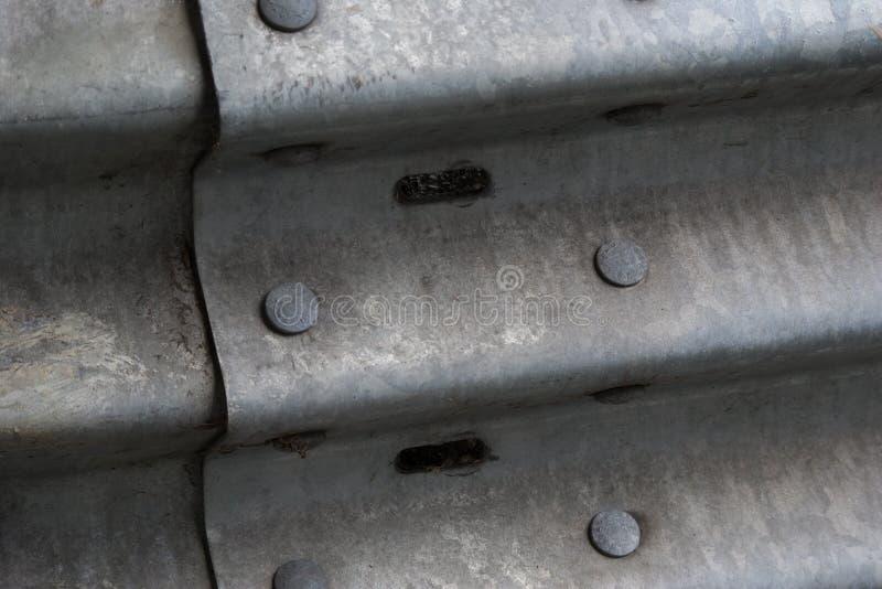 Rivets de rail de garde photos libres de droits