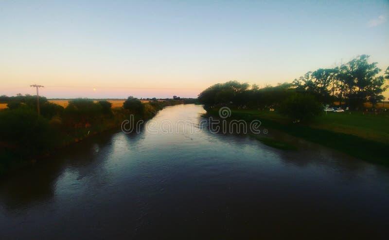 Rivière photographie stock