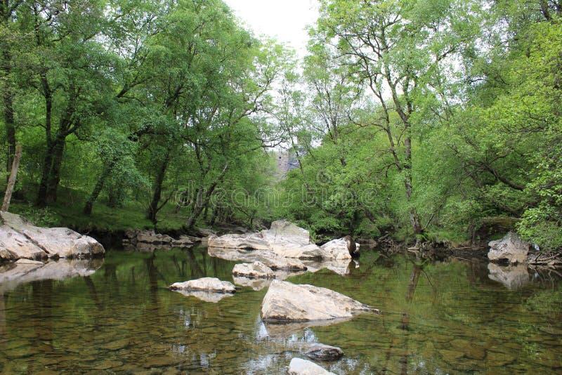 Rivière antique photos stock