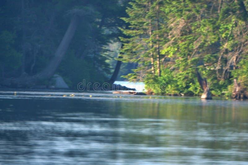 Rivière calme image libre de droits