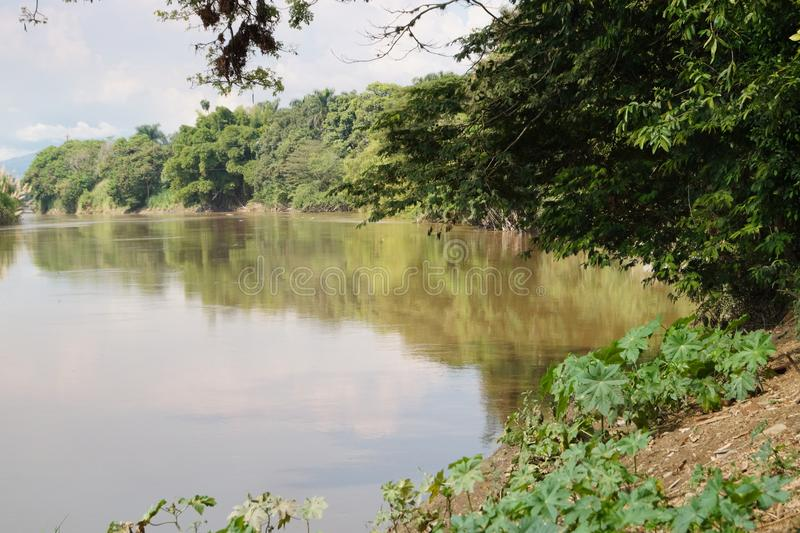 Rivière colombienne image libre de droits