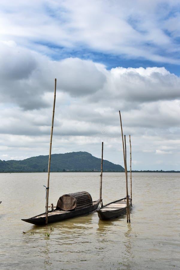 Rivière d'Assam images stock