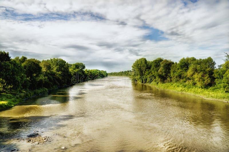 Rivière d'Ottawa photographie stock libre de droits