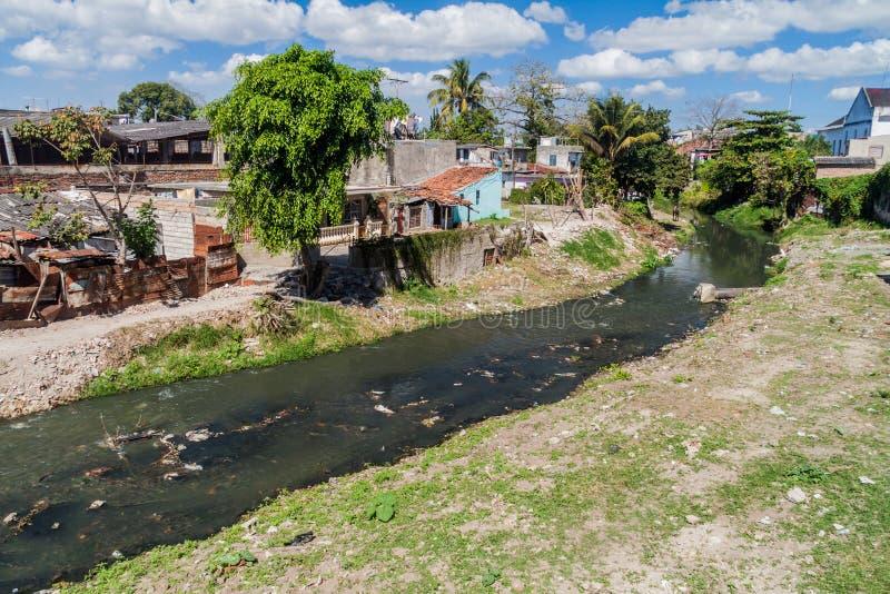 Rivière de Belico en Santa Clara, Cu photos stock