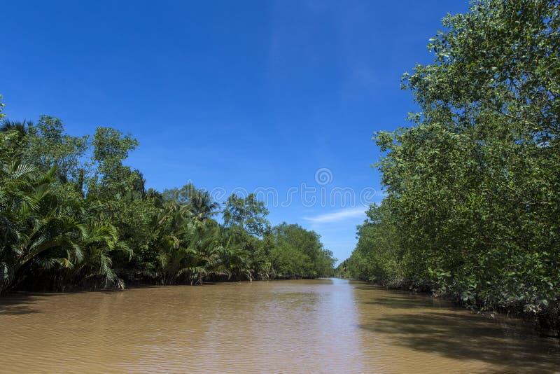 Rivière 4 de Ben Tre photos stock