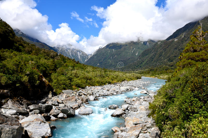Download Rivière De Copland, Voie De Copland Photo stock - Image du vacances, zealand: 76085286