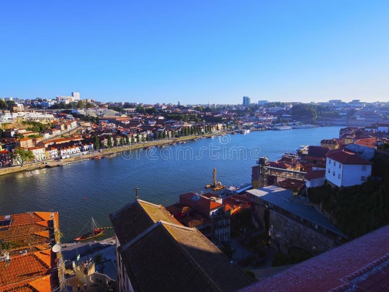 Rivière de Douro à Porto images libres de droits