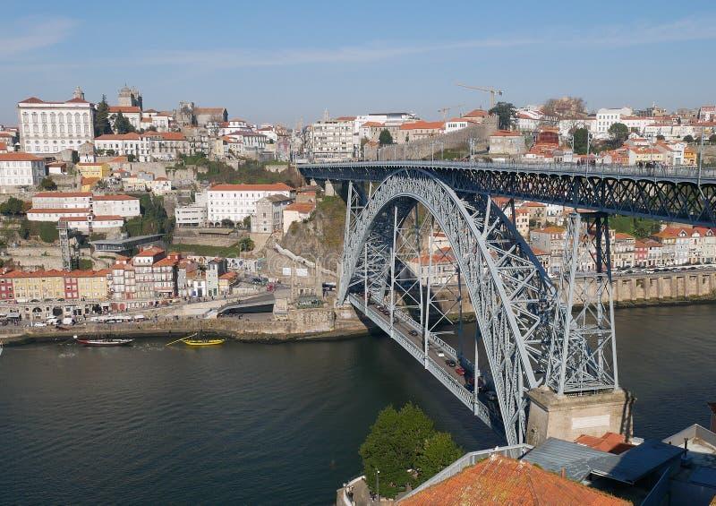 Rivière de Douro à Porto images stock