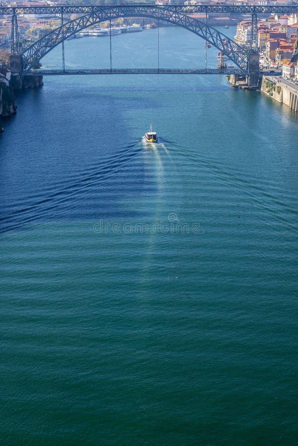 Rivière de Douro au Portugal image stock