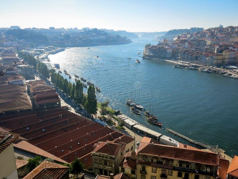 Rivière de Douro, Porto photo stock