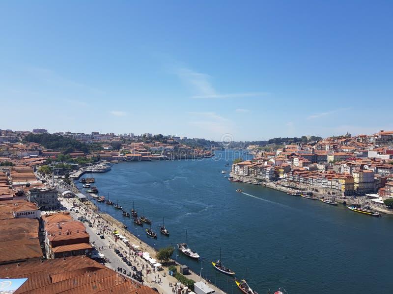 Rivière de Douro - Porto, Portugal photos stock