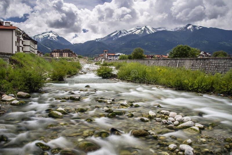 Rivière de Glazne photo libre de droits