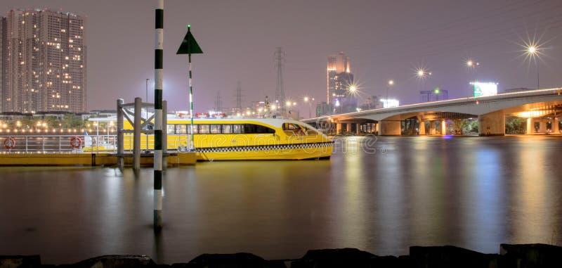 rivière de gouvernement du Nigéria de sai, Ho Chi Minh Ville, Vietnam photo stock