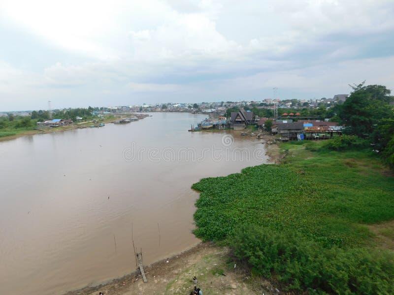 Rivière de Kahayan photo stock