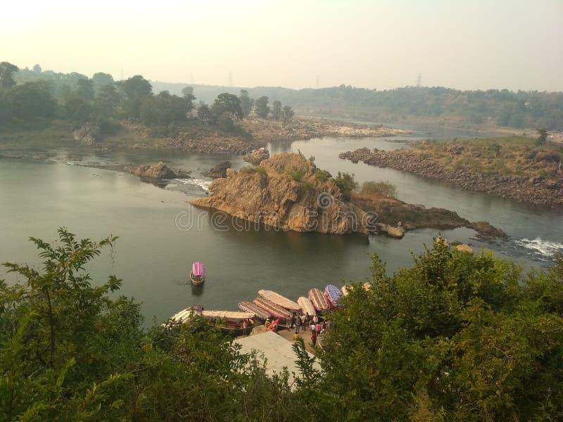 Rivière de l'Inde image libre de droits