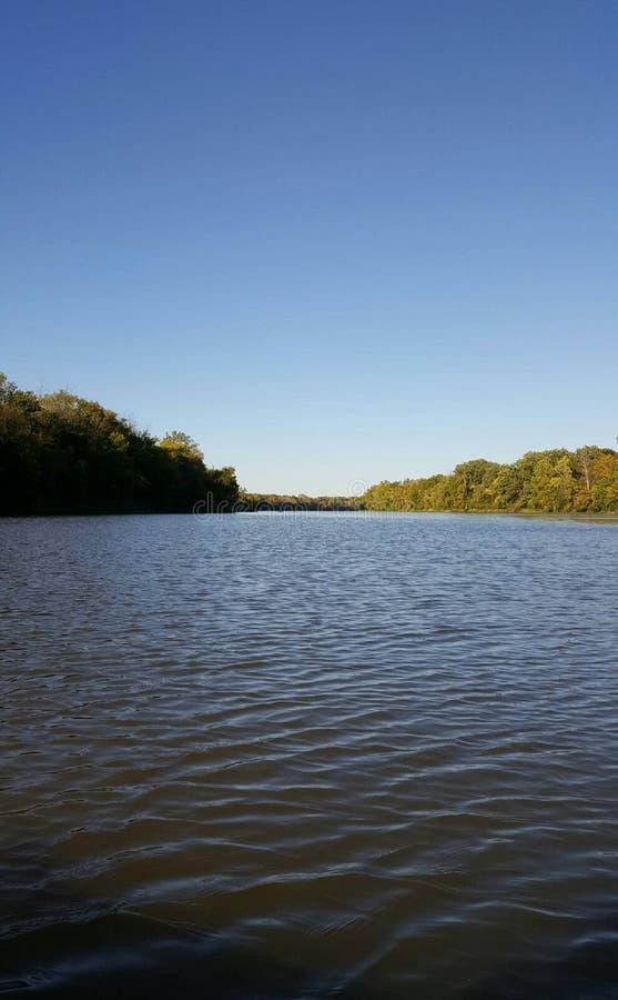 Rivière de Maumee images stock
