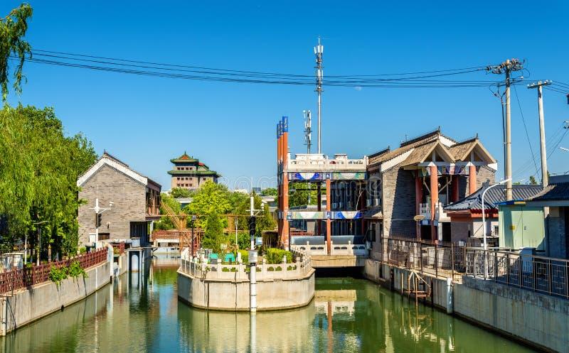 Rivière de Nan-Tchang dans Pékin, Chine images libres de droits