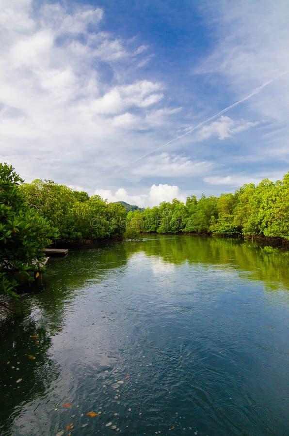 Rivière de payam de KOH photo libre de droits