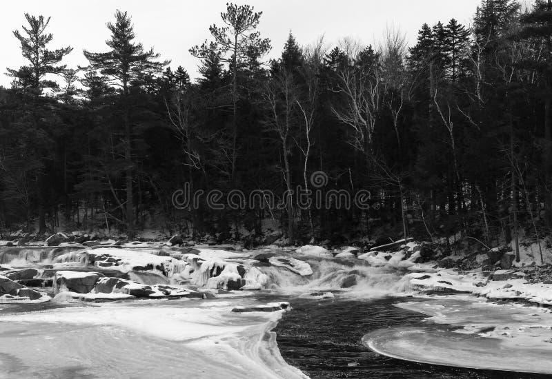 Rivière de Saco photographie stock