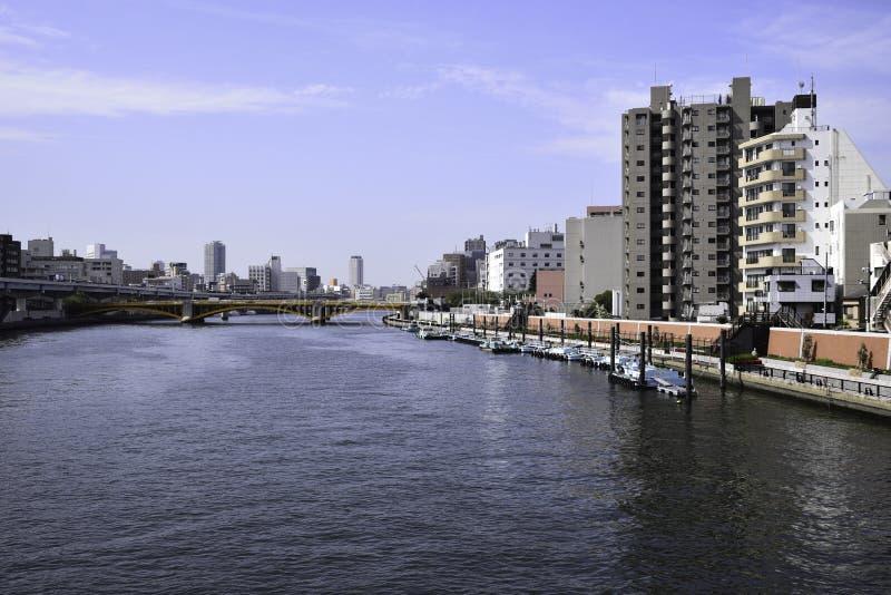 Rivière de Sumida photos libres de droits