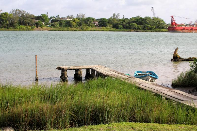 Rivière de Tuxpan, Mexique photo stock