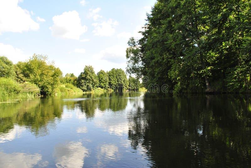 Rivière de Voronezh, Russie images stock