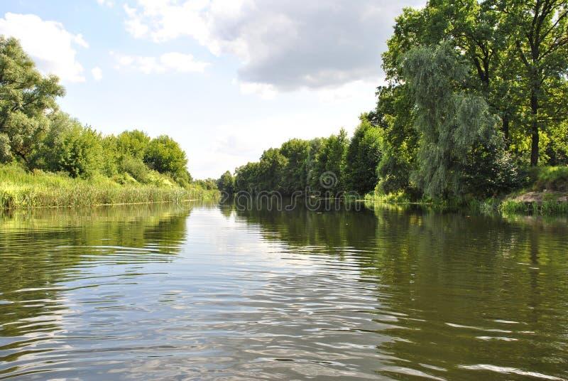 Rivière de Voronezh, Russie images libres de droits