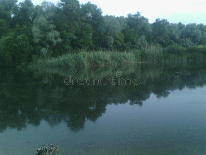 Rivière Dniepr photo libre de droits