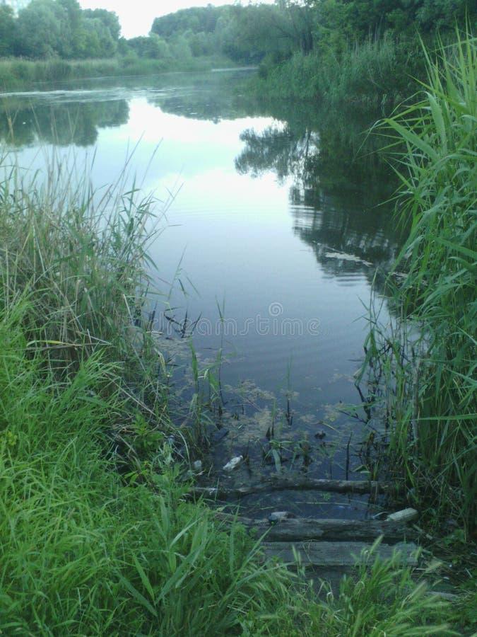 Rivière Dniepr photographie stock libre de droits