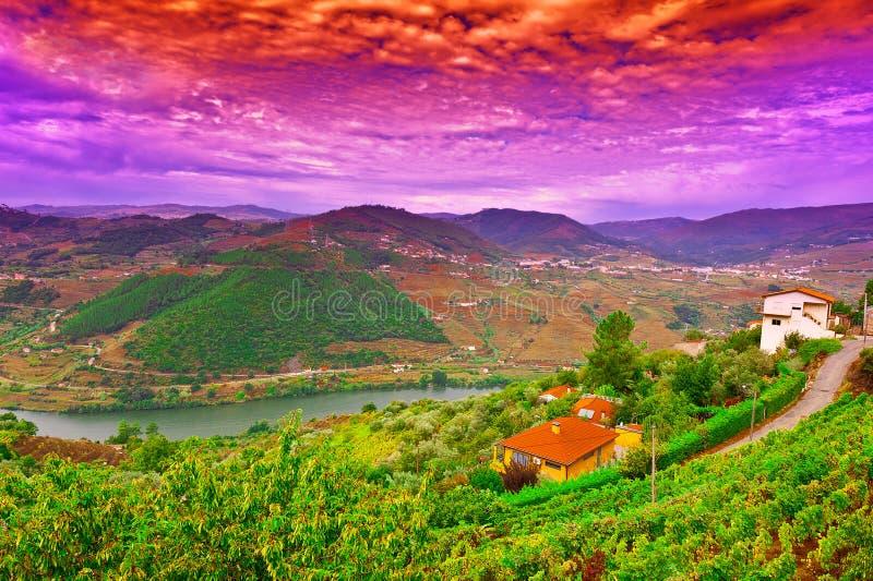 Rivière Douro photos stock