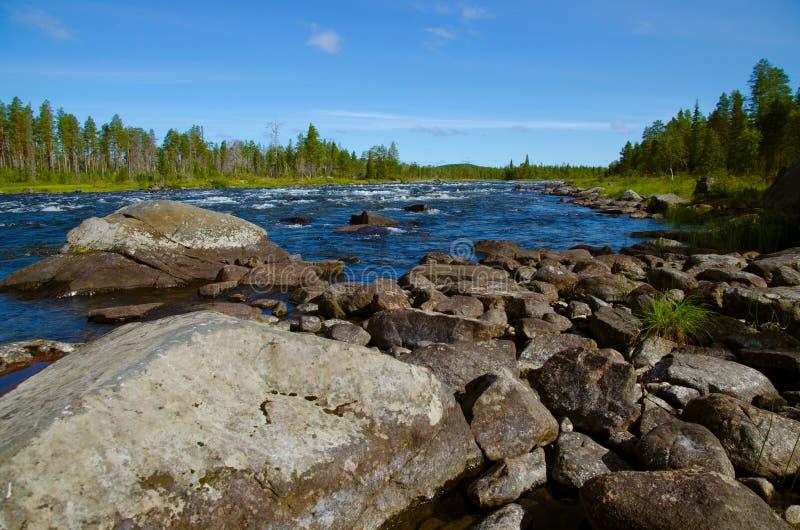 Rivière du nord photo stock