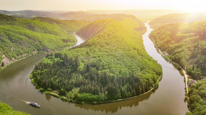 Rivière en Allemagne images stock