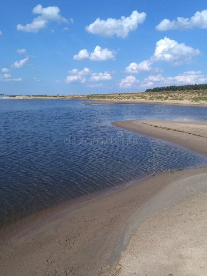 rivière en Pologne wisla images libres de droits