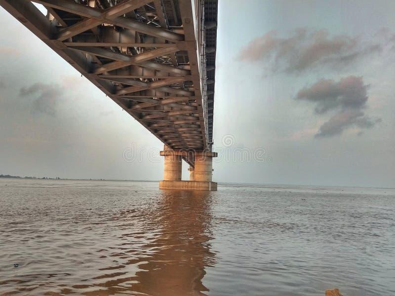 Rivière Ganga image libre de droits