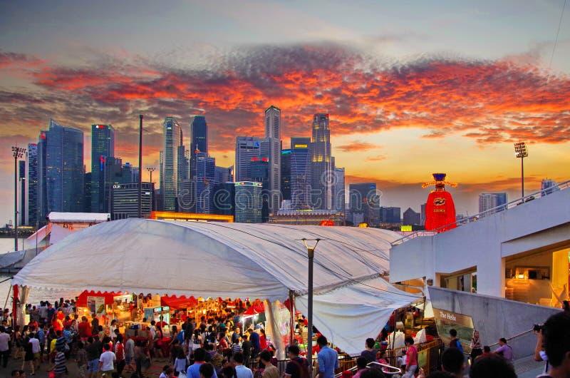 Rivière Hongbao Singapour photographie stock libre de droits