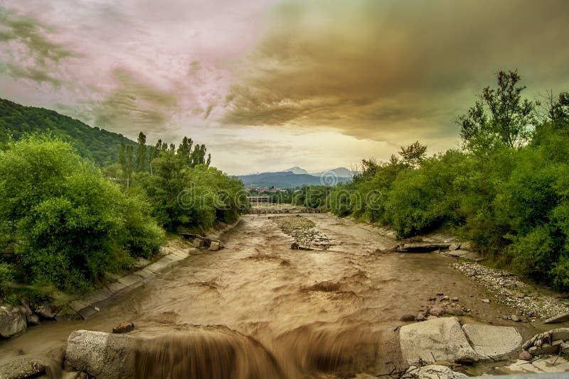Rivière Nalchik images stock
