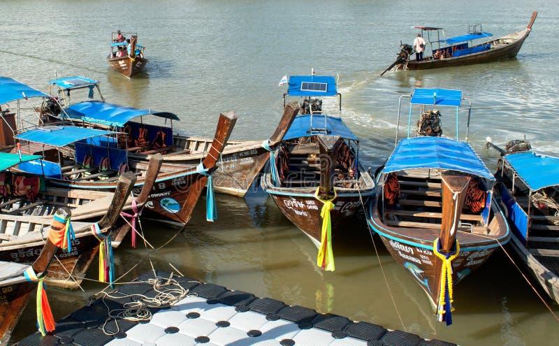 Rivière occupée photo stock