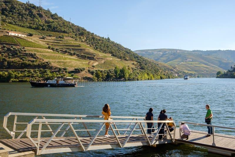 Rivière Pinhao de Douro photographie stock