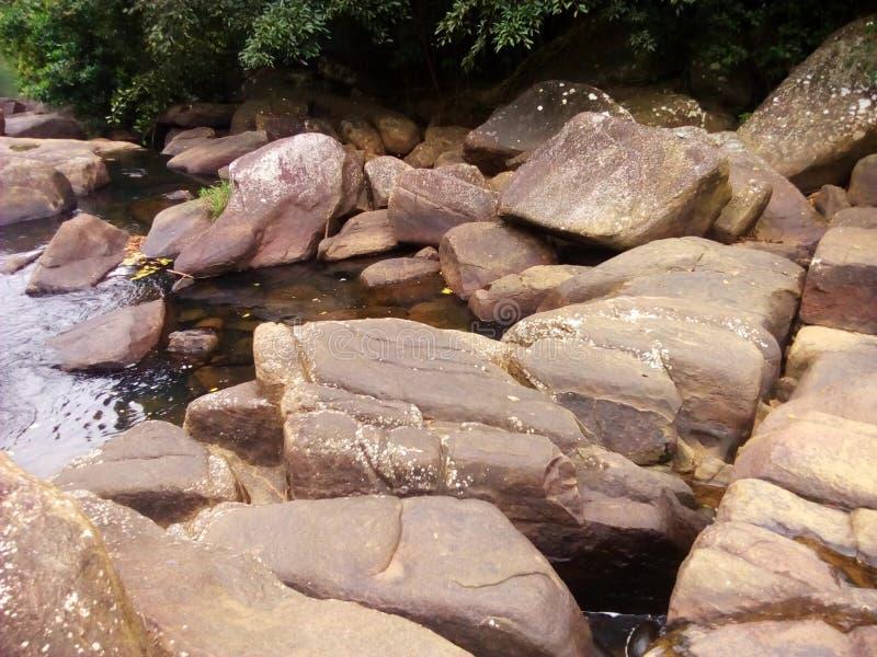 Rivières sri-lankaises photographie stock