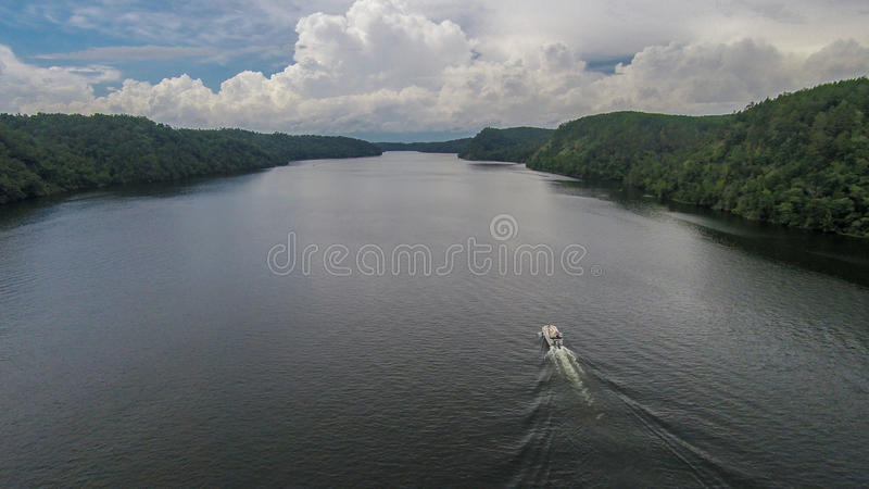 Rivier cruising royalty free stock images