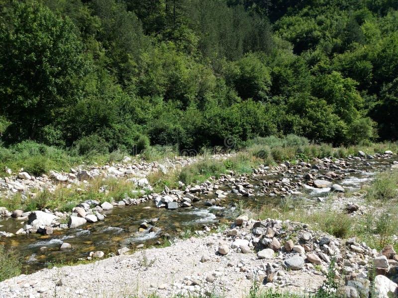 Download Rivier in de Berg stock foto. Afbeelding bestaande uit rivier - 107701478