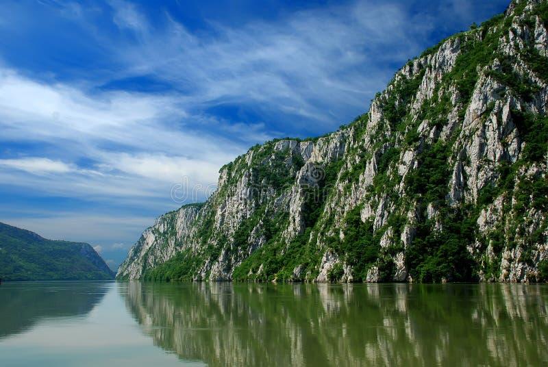 Rivier Donau stock foto's