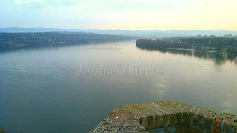 Rivier Donau royalty-vrije stock foto's