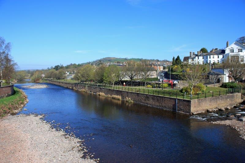 Download Rivier Usk, Brecon stock foto. Afbeelding bestaande uit blauw - 29508524