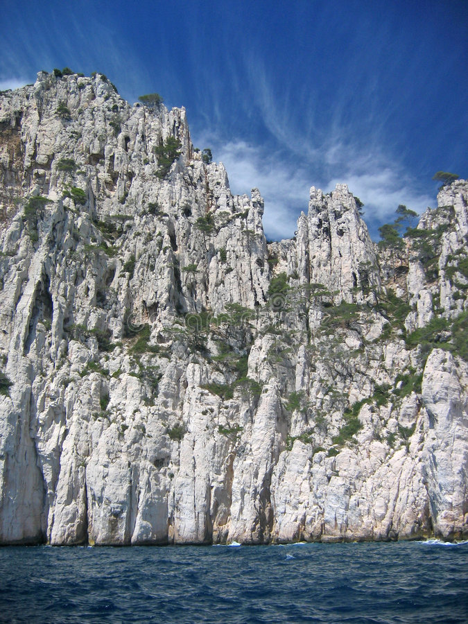 Download Riviera coastline stock image. Image of clear, mistral - 833055